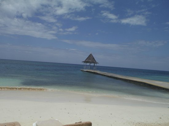 Sandals Montego Bay: pier/gazabo