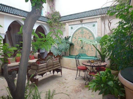 Riad Villa Harmonie: Cour