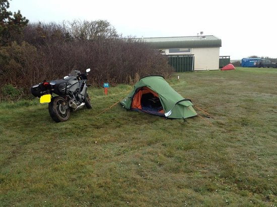Parkdean - Mullion Holiday Park: A very waterlogged campsite