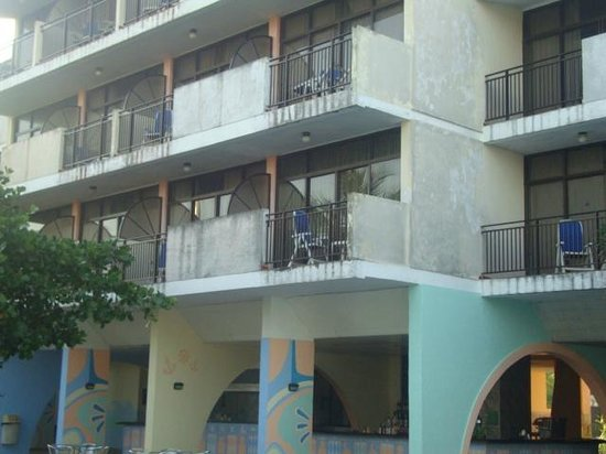 Hotel Club Acuario: vista hotel