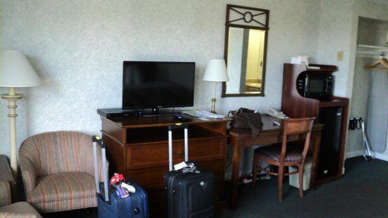 Days Inn Monterey Downtown: Quarto