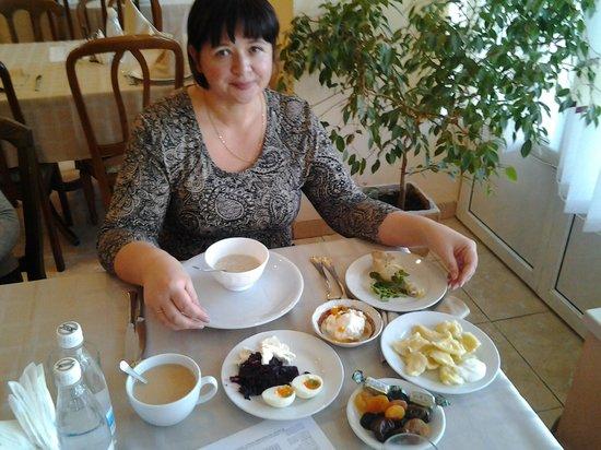 Saki: Скромный диетический завтрак)))