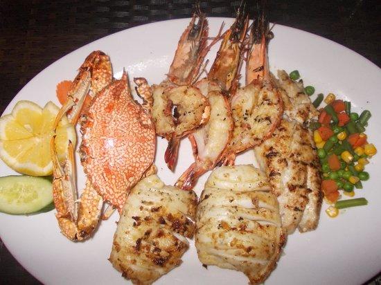 bayt al wakeel - grigliata di pesce
