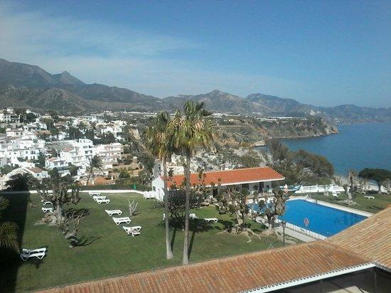 Parador de Nerja: ¿Quién no disfrutaría con estas vistas desde su terraza?