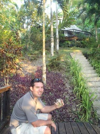Table Rock Jungle Lodge: nice place to hear birds