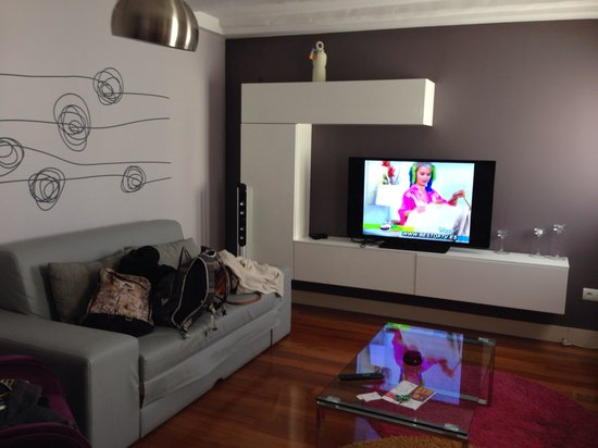 Madrid SmartRentals Atocha: Living room
