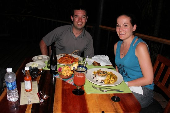 Table Rock Jungle Lodge : Great food