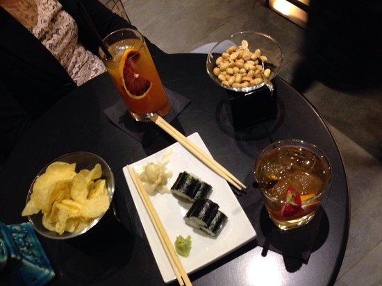 Caparena Sushi & Wine: Aperitivo squisito!!!
