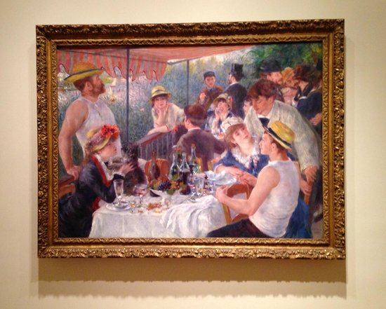 The Phillips Collection: Luncheon of the Boating Party  ( 1880-81) Pierre-Auguste Renoir