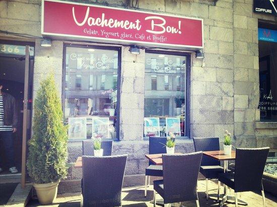 Exterior of Vachement Bon!
