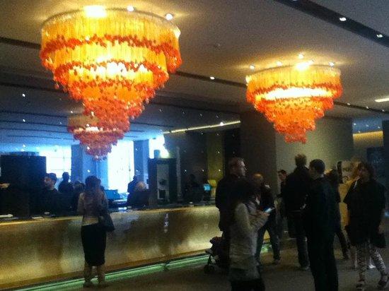 nhow Milano : lobby at the Nhow