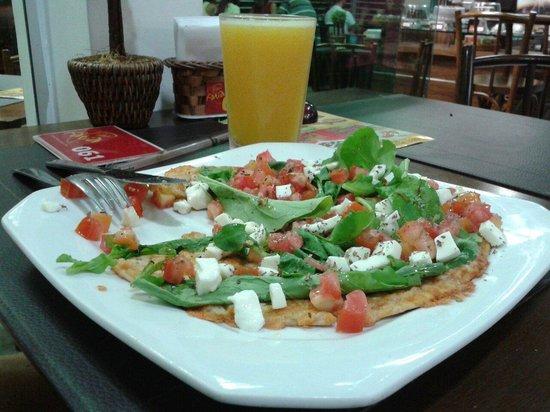 Fina Fatia: Pizza vegetariana