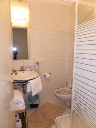 Hotel Casa Petrarca: Clean, Compact, lovely shower