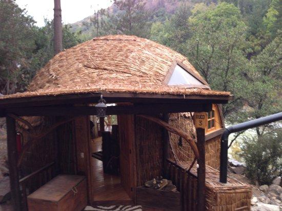 Cascada de las Animas: Borde Rio cabin