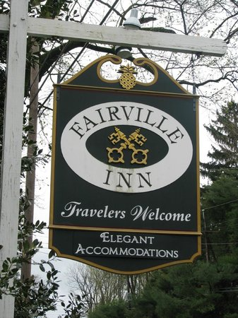 Fairville Inn Bed and Breakfast : You have arrived!!