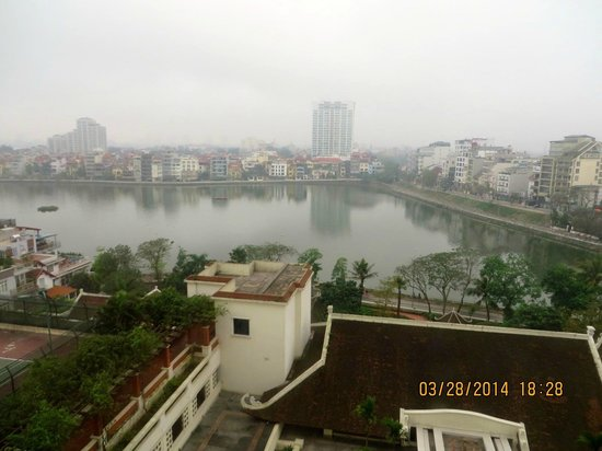 Sheraton Hanoi Hotel: View of Hanoi from our room