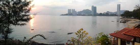 Lost Paradise Resort : vue sur la baie depuis le ressort
