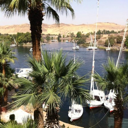 Sofitel Legend Old Cataract Aswan: Vue depuis les jardins