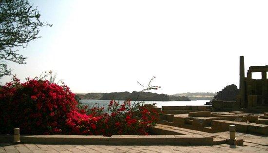 Philae Island : vue depuis le temple