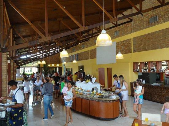 Salinas Maragogi All Inclusive Resort: Restaurante y desayunador
