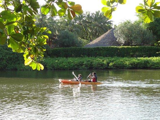 Salinas Maragogi All Inclusive Resort: Las actividades en el río