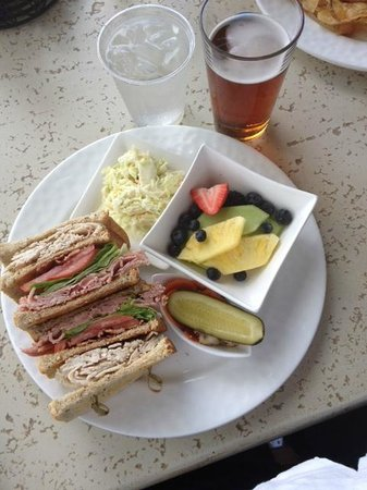 Villas of Grand Cypress : Club sandwich with healthier options