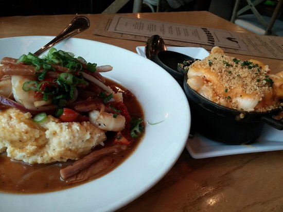 Yardbird - Southern Table & Bar : Shrimp & Grits, Mac and Cheese