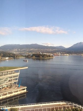Pan Pacific Vancouver: view