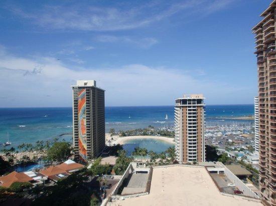 Hilton Hawaiian Village Waikiki Beach Resort: 部屋からの眺望