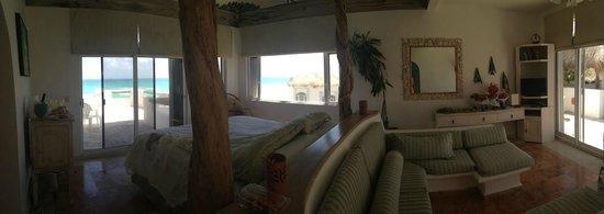 Hacienda del Secreto: Penthouse Suite at Villa Sarita