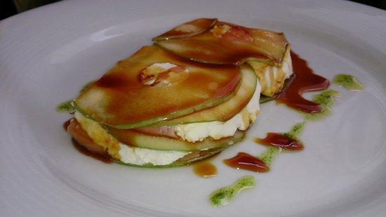 Restaurante Museo de Productos de Castilla-La Mancha: Milhoja de salmón