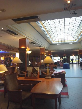 The Aquincum Hotel Budapest: Lobby