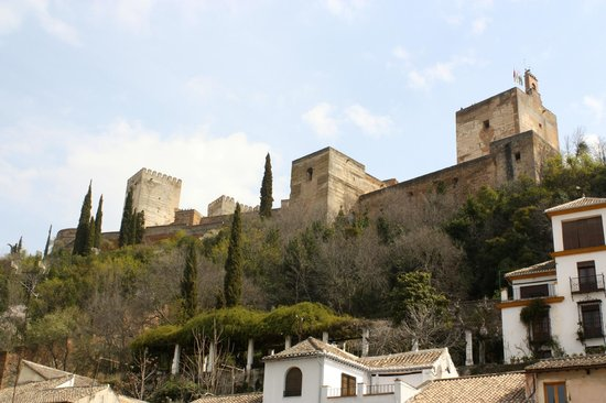 Hotel Zaguan del Darro : The Alhambra