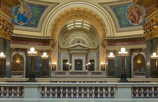 Wisconsin State Capitol: Interior