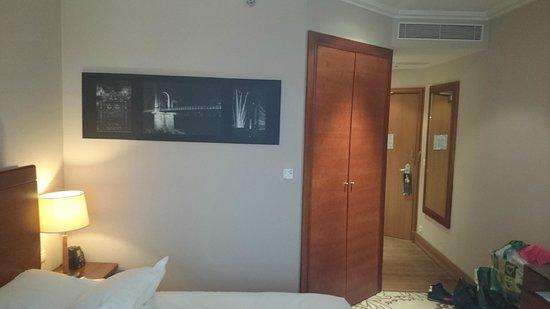 Lyon Marriott Hotel Cité Internationale : Chambre