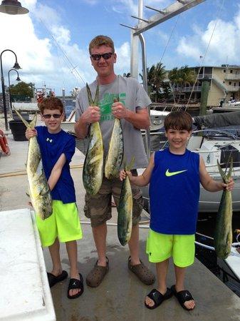 Round Up Fishing Charters - Private Tours: Mahi Mahi