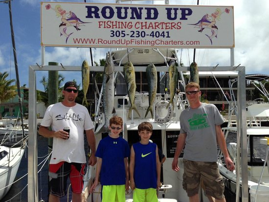 Round Up Fishing Charters - Private Tours: Our Catch