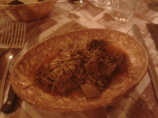 L'Umbricello del Coccio : Cinghiale col tartufo!