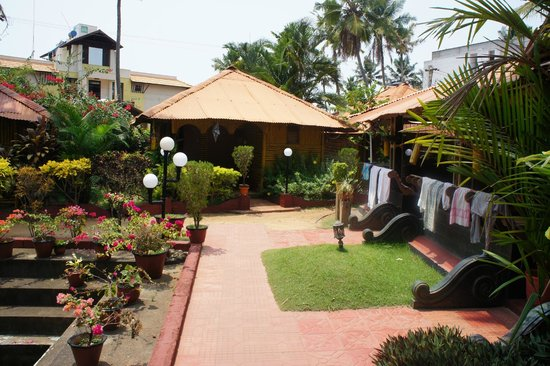 Beautiful Garden Picture Of Kerala Bamboo House Varkala