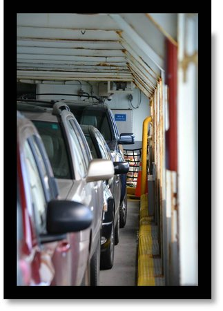 Washington State Ferries: Loaded & Parked on the ferry