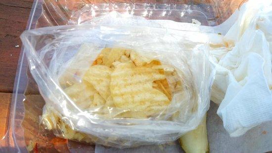 T. Burk & Co. Deli Restaurant: Fresh Chips