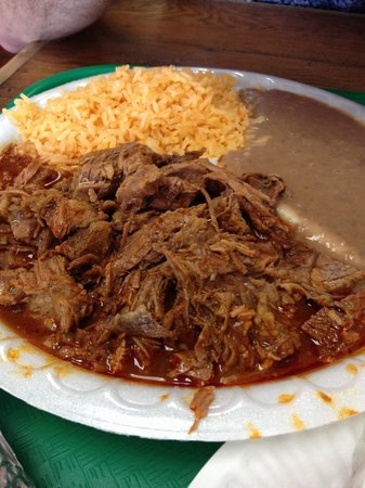 Birria Plate Red Chili Beef Stew Picture Of El Camino