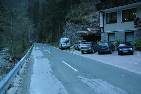 Guest House and Museum First: road to Logarska valley