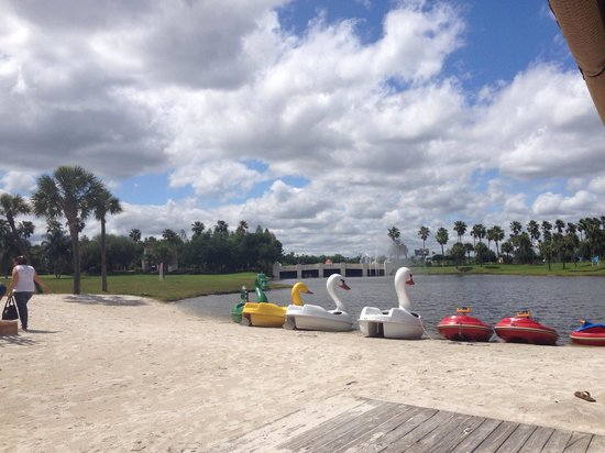 Star Island Resort and Club: Paddle boats! 2 seater, 10$ an hour