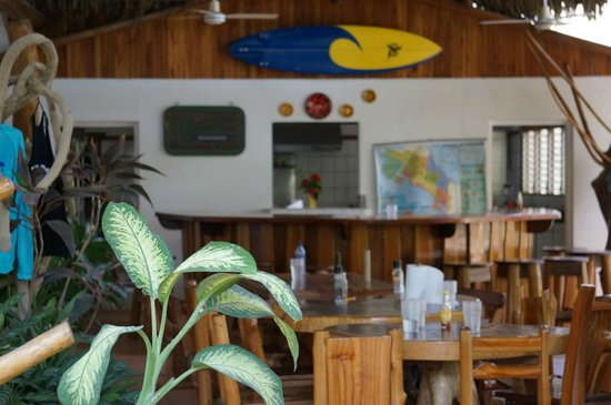 Great food cooked there included foto di corky carroll 39 s surf school nosara tripadvisor for Corky s garden center