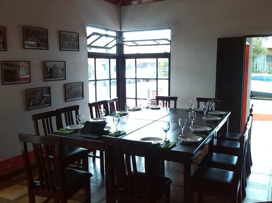 Parrillada d Escalante: Saloon for meetings 15 persons max.