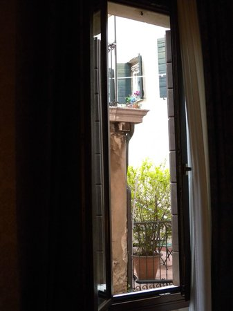 BEST WESTERN Montecarlo: The view from one of our windows