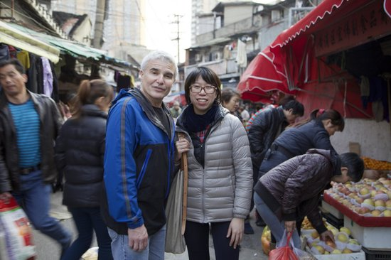 Shanghai Pathways-Private One-day and Walking Tours : At the market