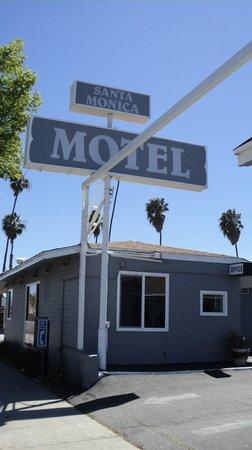 Santa Monica Motel: Recepção