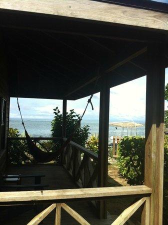 Las Rocas Resort & Dive Center: view from bungalow patio